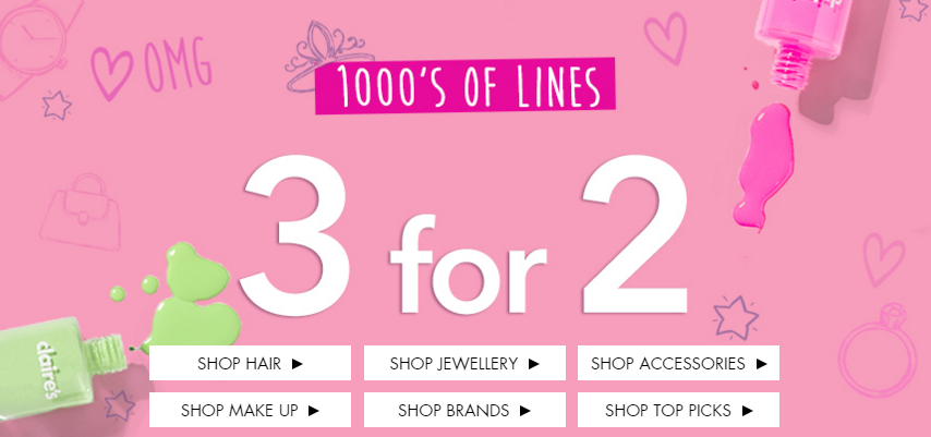 claires-3for2