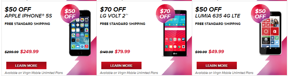 Virgin Mobile Promo Codes and Coupons  Best disounts for